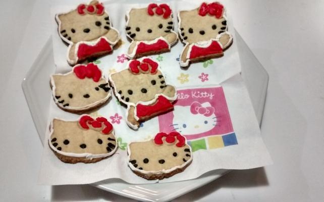 Biscoitos Hello Kitty 1