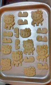 biscoitos Hello Kitty para assar 1