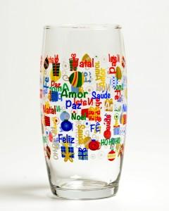 Copo Long Drink Oca Natal Nadir - R$ 5,99 CADA (1)