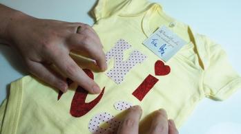kit pinta bebe - body customizado 2