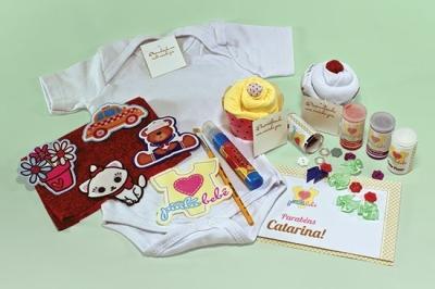 kit pinta bebe - kit presente especial