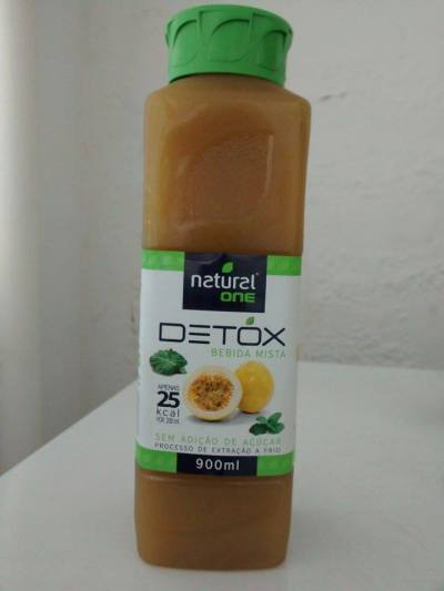suco detox natural one