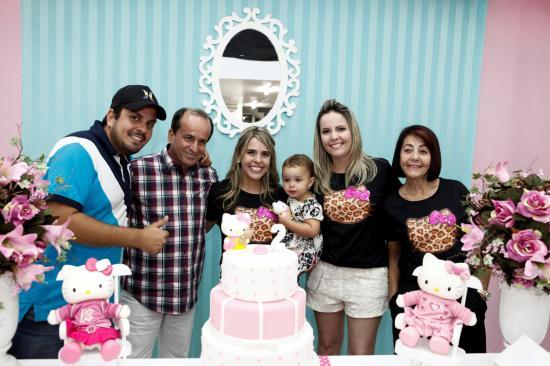 festa Hello Kitty familia
