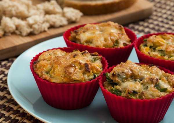 Muffin Vegetariano Wickbold