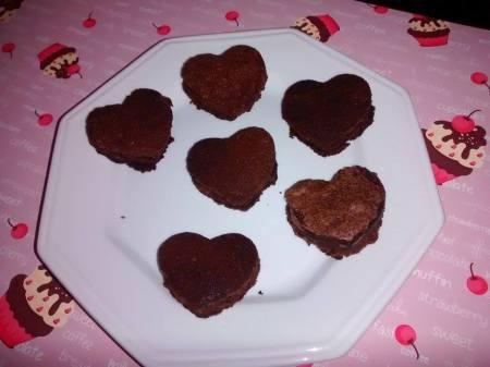 brownie coracoes