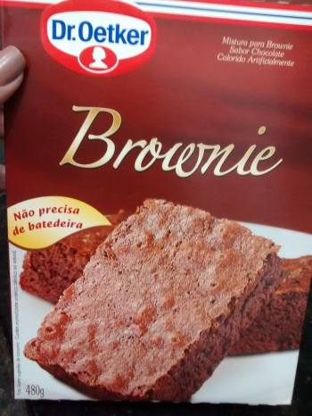 brownie Dr Oetker