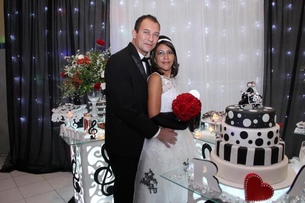 casamento anos 60 - noivos