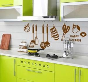 adesivo cozinha - utensilios