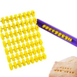 molde alfabeto biscoito